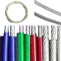 PVC - Stainless - Small Wire Ropes